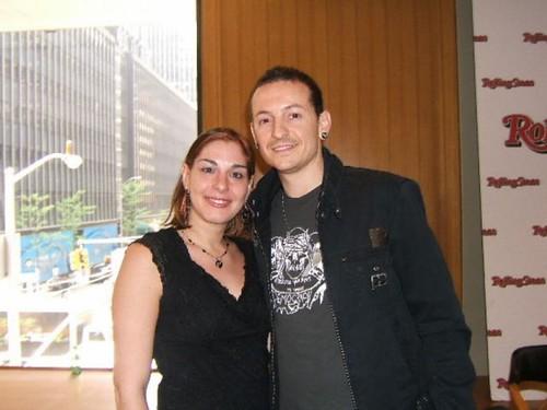 Girl with Chester Bennington of Linkin Park | Eat Sleep Breathe Music