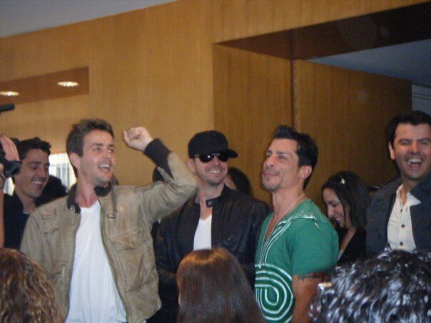 New Kids on the Block Entering the US weekly Luncheon | Eat Sleep Breathe Music