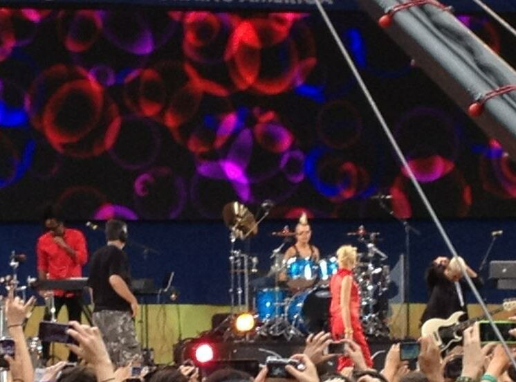 No Doubt on GMA Summer Stage