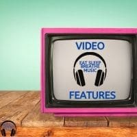 """PInk Tube TV with the Words """"Video Features"""" 