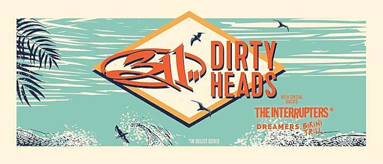 311 & Dirty Heads Tour | Eat Sleep Breathe Music