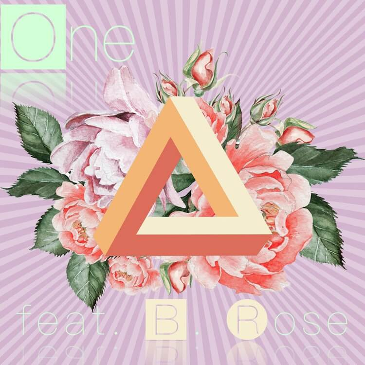 """Stefan T Song of the Day Picture features Flowers with a triangle on top and the words """"one B"""" 