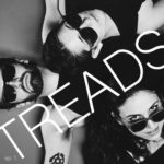 Band Treads Wearing Sunglasses in Black and White | Eat Sleep Breathe Music