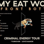 Jimmy Eat World & The Front Bottoms Co-Headlining Criminal Energy Tour Poster | Eat Sleep Breathe Music