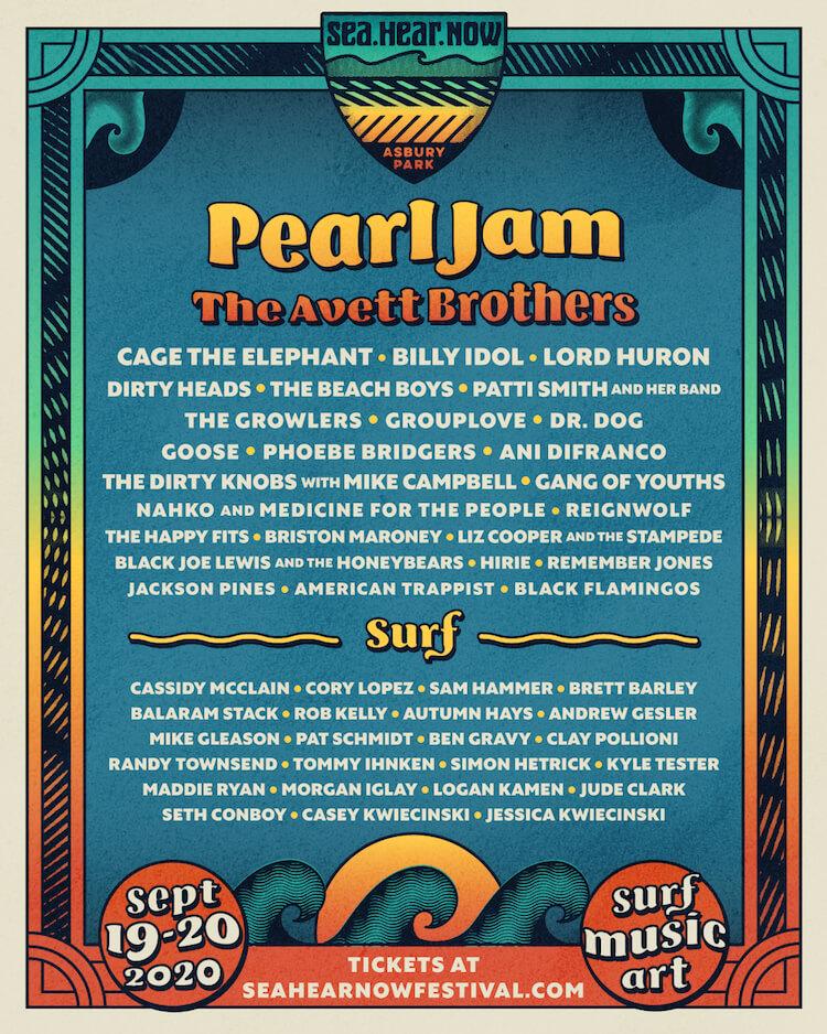 Lineup for Sea Hear Now Festival 2020 | Eat Sleep Breathe Music.com