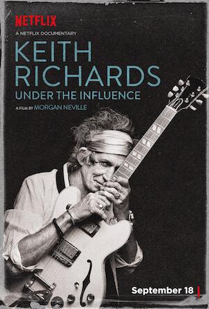 Keith Richards: Under the Influence Best Netflix Music Documentaries   Eat Sleep Breathe Music