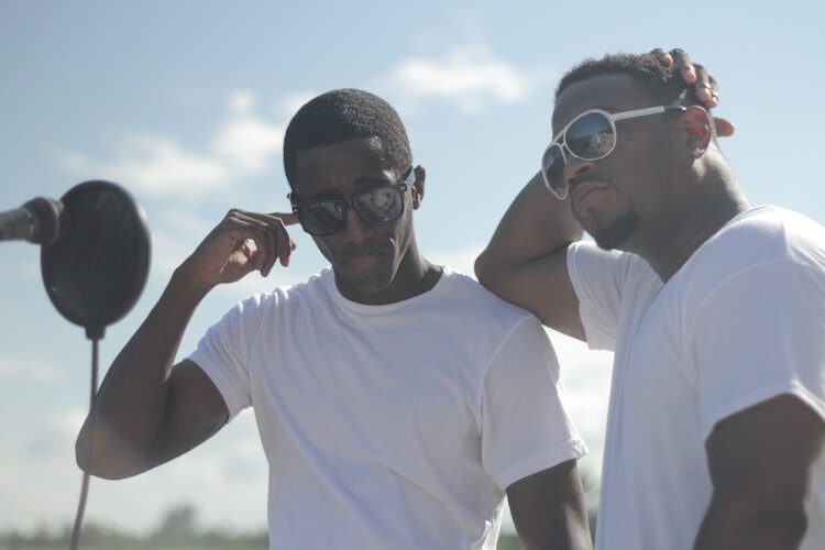 VIP Rev & PRyme Two Guys Wearing White Tee Shirts | Eat Sleep Breathe Music