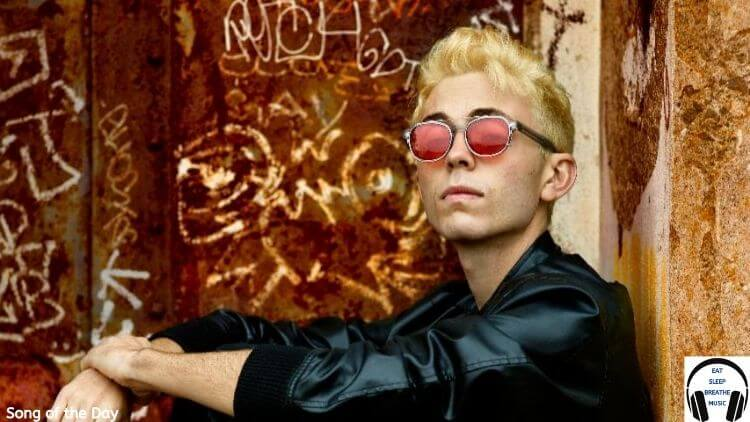 MUSICIAN Matt Jaffe Sitting with Pink Sunglasses on | Eat Sleep Breathe Music