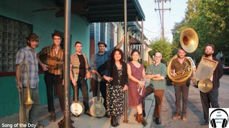 Members of the Maria Muldaur with Tuba Skinny band | Eat Sleep breathe Music