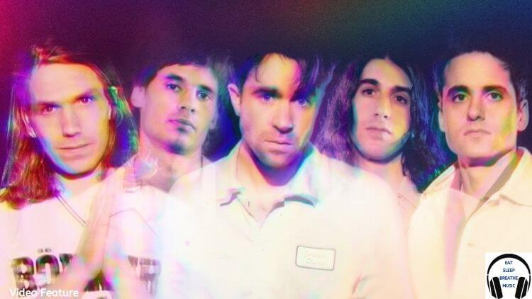 Members of the music group the vaccines | Eat Sleep Breathe Music
