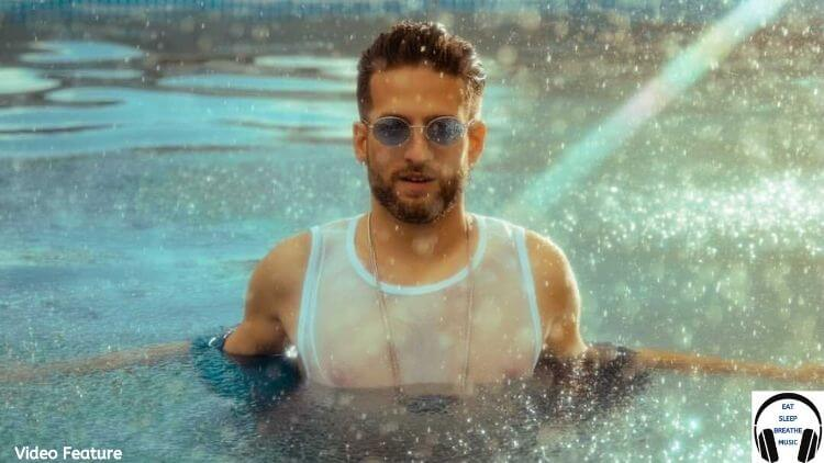 Musician Jared Milian in a Pool Video Feature   The Radiant Root